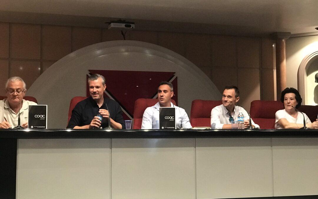 Reunión Ordinaria de la Sección del Mueble del COAC Murcia y presentación Feria Hábitat Valencia.
