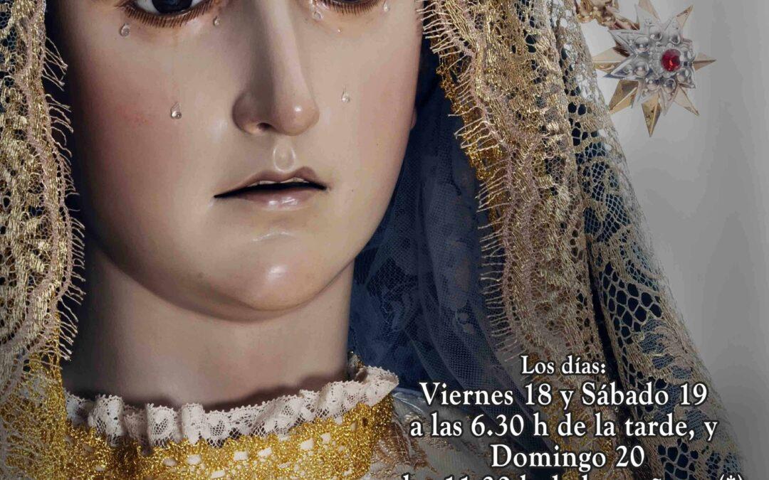 Misa en honor de la Patrona de los Agentes Comerciales, Ntra. Sra. la Virgen de la Esperanza.